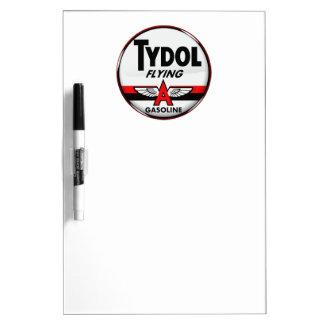 Tydol Flying Gasoline sign Crystal version Dry-Erase Boards