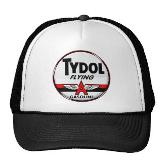 Tydol Flying Gasoline sign Crystal version Hats