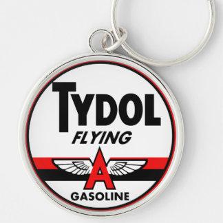 Tydol Flying Gasoline vintage sign Key Chains