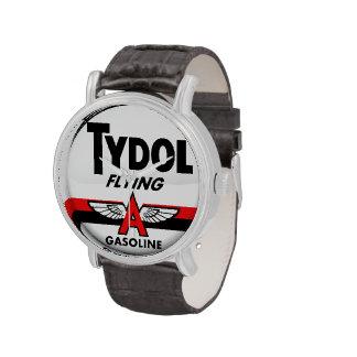 Tydol Flying Gasoline vintage sign Watches