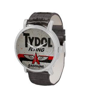 Tydol Flying Gasoline vintage sign Wrist Watches