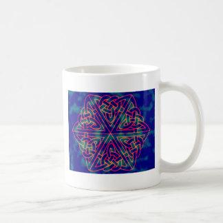 Tye-dye Celtic Knot Mug
