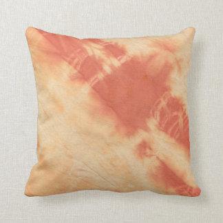 Tye Dye Composition #10 by Michael Moffa Cushion