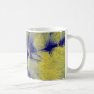 Tye Dye Composition #11 by Michael Moffa Basic White Mug