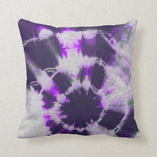 Tye Dye Composition #1 by Michael Moffa Cushion
