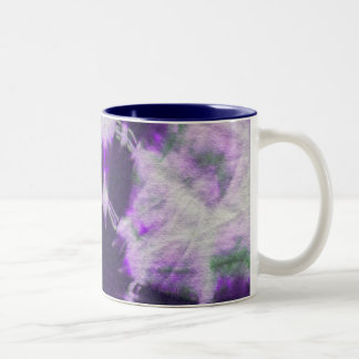 Tye Dye Composition #1 by Michael Moffa Coffee Mug