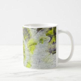 Tye Dye Composition #3 by Michael Moffa Basic White Mug