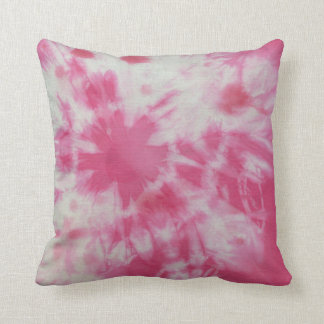 Tye Dye Composition #6 by Michael Moffa Cushion