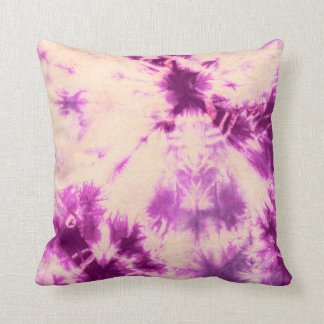 Tye Dye Composition #7 by Michael Moffa Pillows