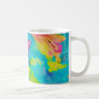 Tye Dye Pattern Coffee Mugs