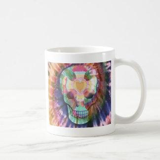 Tye Dye Skull Mugs
