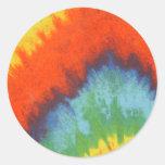 Tye Dye Stickers