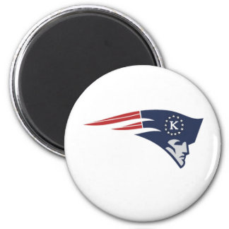 Tyfa Killeen Patriots Youth Football, Cheer & 6 Cm Round Magnet