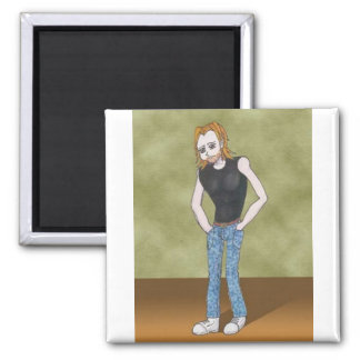 Tyger Amime Art Gallery Character Refrigerator Magnets