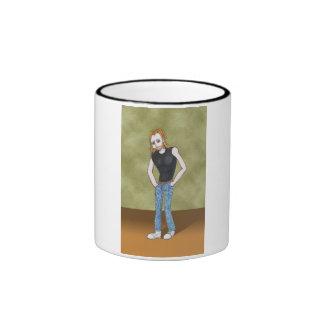 Tyger Amime Art Gallery Character Coffee Mugs