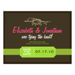 Tying the Knot Save the Date Announcement