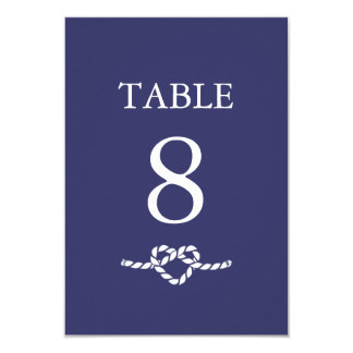Tying The Knot | Table Card