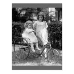 Tyke on Trike, 1920s Post Cards