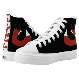 Tyler The Red Fox Printed Shoes