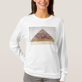 Tympanum depicting the Saviour Blessing, 1341 T-Shirt