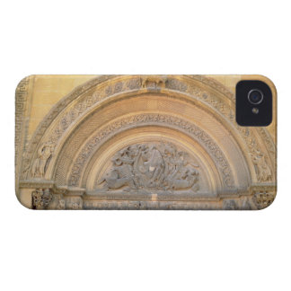Tympanum of the porch depicting Christ in Majesty Case-Mate iPhone 4 Case