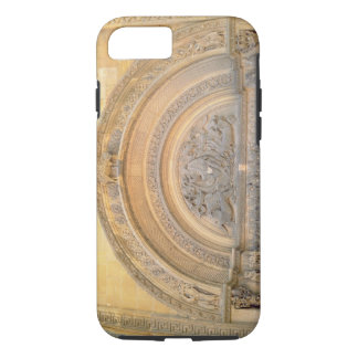 Tympanum of the porch depicting Christ in Majesty iPhone 7 Case