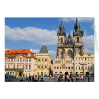 Tyn Church Prague Card