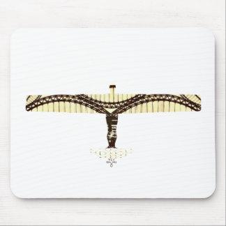 tyne bridge angel mouse mat