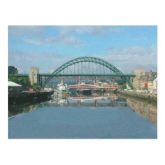tyne bridge (daylight) postcard