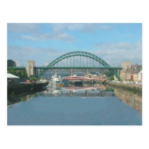 tyne bridge (daylight) post card