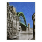 Tyne Bridge, England Postcard