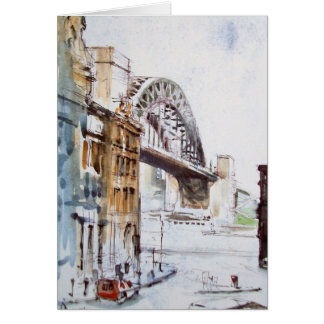 Tyne Bridge from Dean Street Card