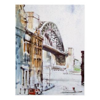Tyne Bridge from Dean Street Post Card