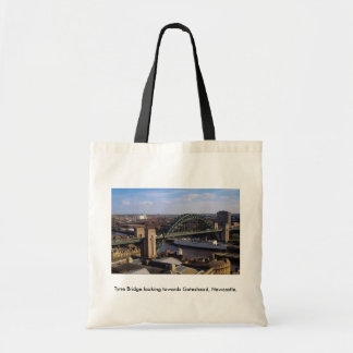 Tyne Bridge looking towards Gateshead, Newcastle, Tote Bag