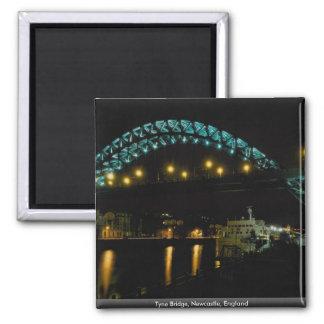 Tyne Bridge, Newcastle, England Magnet