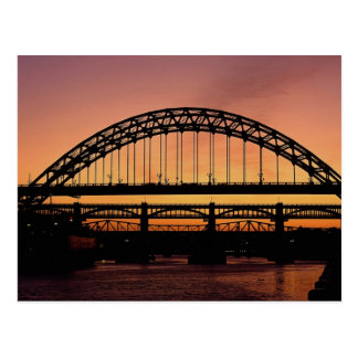 Tyne Bridge, Newcastle, England Postcard