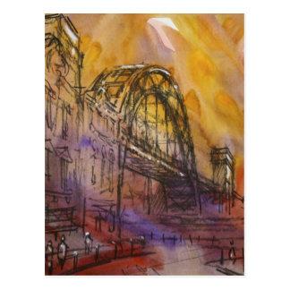 Tyne Bridge Newcastle Postcard