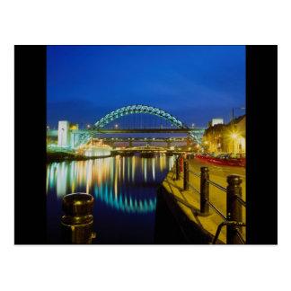 Tyne Bridge Newcastle-Upon-Tyne England Post Cards
