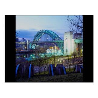 Tyne Bridge, Newcastle-Upon-Tyne, England Post Card