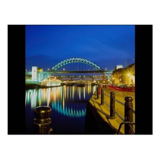 Tyne Bridge, Newcastle-Upon-Tyne, England Post Cards
