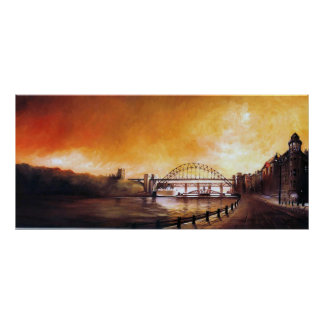 Tyne Bridge Newcastle upon Tyne Print