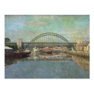 tyne bridge (sepia) postcard