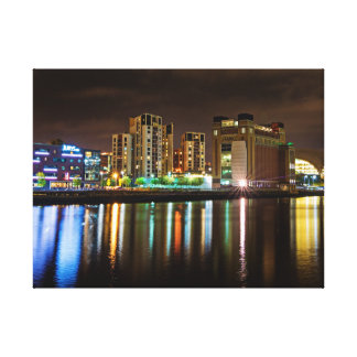 Tyne Reflections Canvas Print