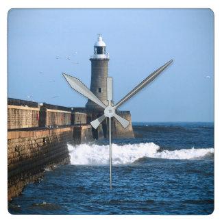 Tynemouth Lighthouse Wall Clock