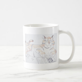 Type of cat, 5 letters... basic white mug
