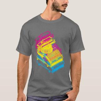 Type Writing Machine cmy Patent Illustration T-Shirt