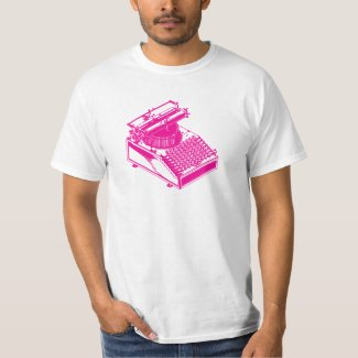 Type Writing Machine - Magenta Writer typewriter