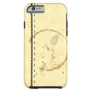 Typeart and Coffeestain Faux Parchment iPhone Case Tough iPhone 6 Case