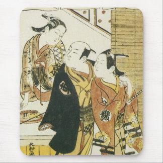 Types from Kyoto, Edo and Osake, Toshinobu, 1716 Mouse Pad