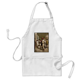 Types of Arabs, Tunis, Tunisia classic Photochrom Adult Apron